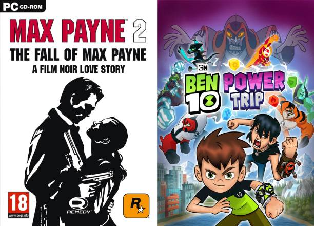 max payne 2 & ben 10 power trip PC GAME FOR PC (STANDARE)