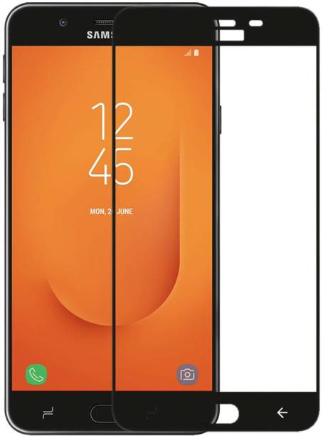 UbrosNetwork Edge To Edge Tempered Glass for Samsung Galaxy J7 Prime 2