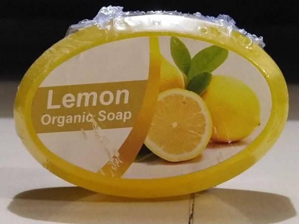 Wallkings Organic Lemon Soap Pack of - 4