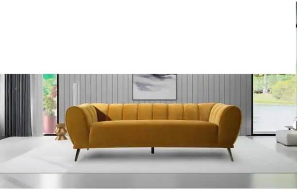janzofurnitures Fabric 3 Seater  Sofa