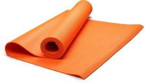 GROVERTEXOFAB ORANGE ANTI SKID PREMIUM 4 mm mm Yoga Mat