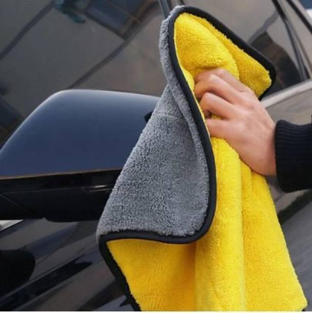 Auto Snap Microfiber Vehicle Washing  Cloth