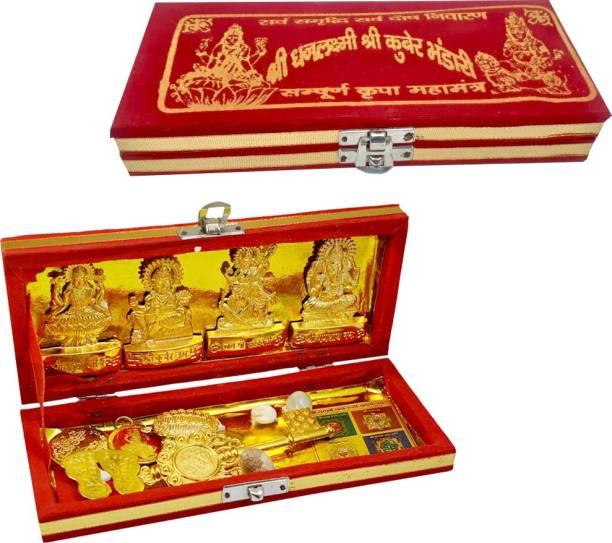 Rangoli Shri Dhan Laxmi Kuber Bhandari Yantra Gold Yantra