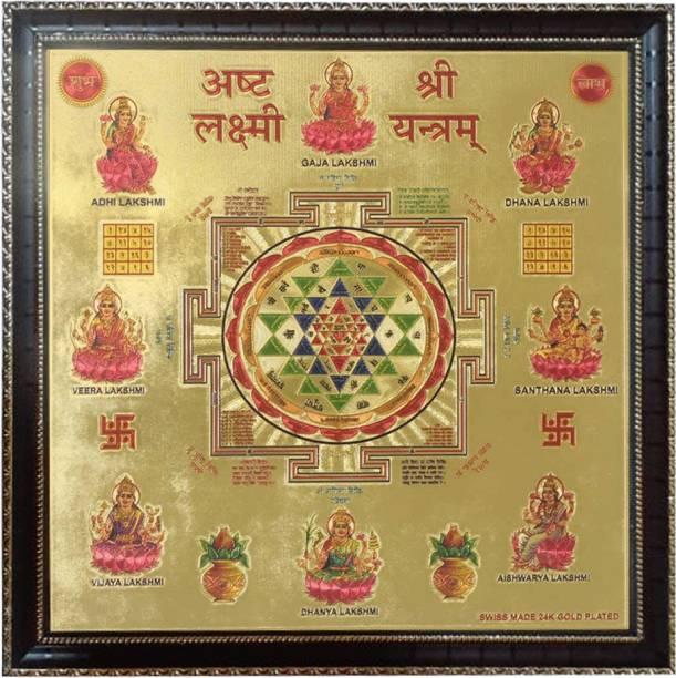 Rangoli Shri_Asht_Lakshmi Gold Yantra