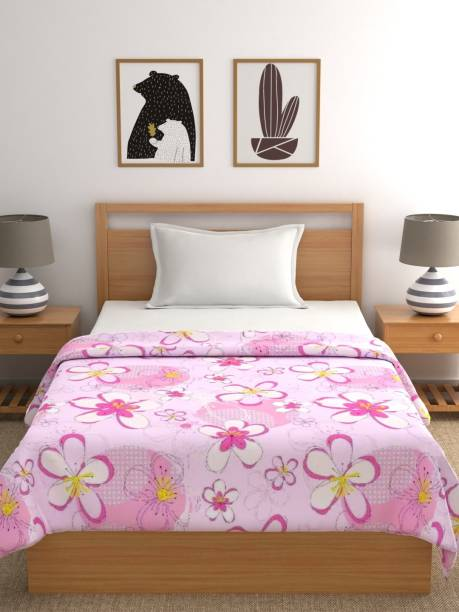 Raymond Home Floral Double Quilt