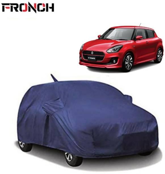 FRONCH Car Cover For Maruti Suzuki Swift (With Mirror Pockets)