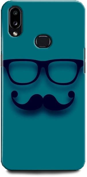 INDICRAFT Back Cover for Samsung Galaxy M01s EMOJI, HIPSTER, BEARD, YELLOW, SMILEY