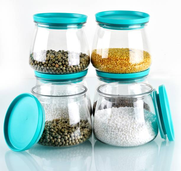 SPEACK Woman's 1st Choice Airtight Kitchen Storage Containers / Plastic Container / Masala Box / Kitchen Containers / Plastic Box / Storage Box / Storage Containers For Kitchen Organizer, Tea, Coffee, Sugar, Food, Grain, Rice, Masala, Pasta, Pulses, Spices  - 800 ml Plastic Grocery Container