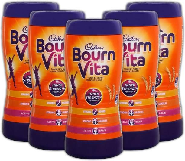 Cadbury Bournvita Inner Strength 200 Gm (Pack of 5) Energy Drink