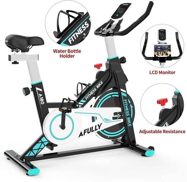 IRIS Indoor Cycling Belt Drive with Adjustable Resistance Indoor Cycles Exercise Bike