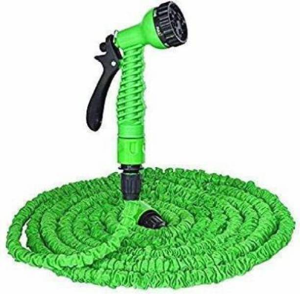 Kashvi unique Unique Hose Pipe,50 Foot Hose Pipe Expandable Magic Hose Garden Pipe, 15m 50 Feet Expandable Garden Hose for Car Washing Gun Retractable Garden 15 Meter: 50 Ft High Quality Anself Ultralight Garden Watering Hose Magic Pipe Flexible Expandable Garden Hose The amazing expandable hose. Just turn on the water and watch this mini hose grow to a maximum length full size hose! Super light and easy to handle. when you turn off the water to the Pocket Hose, it shrinks back to its original size. The Hose grows long and super strong enough for any size job. Perfect for gardens, terraces, patios, windows and more, you just turn on the water and watch the Hose grow and grow and grow Hose Pipe