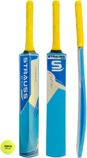 Strauss PW-200 Popular Willow Bat and Ball (Combo) Cricket Kit