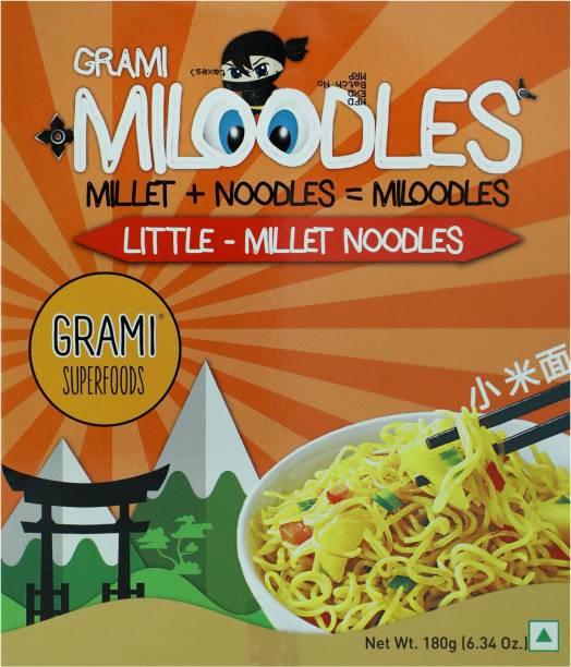 Grami Superfoods Little Millet Instant Noodles Vegetarian