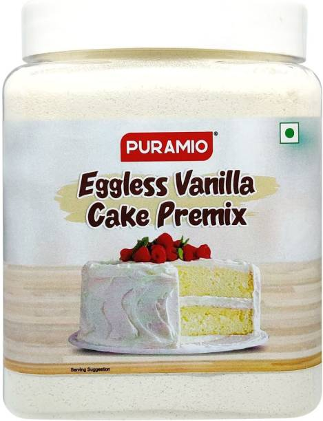 PURAMIO Eggless Vanilla Cake Premix 800 g