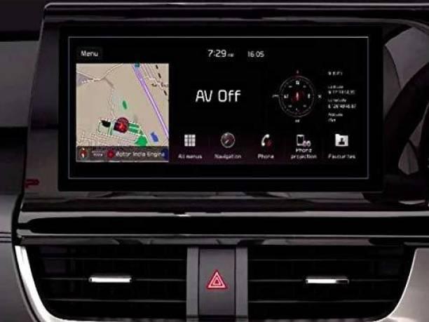 Sheel Grow Tempered Glass Guard for Kia Seltos GTX Car's Infotainment System (2020) Model