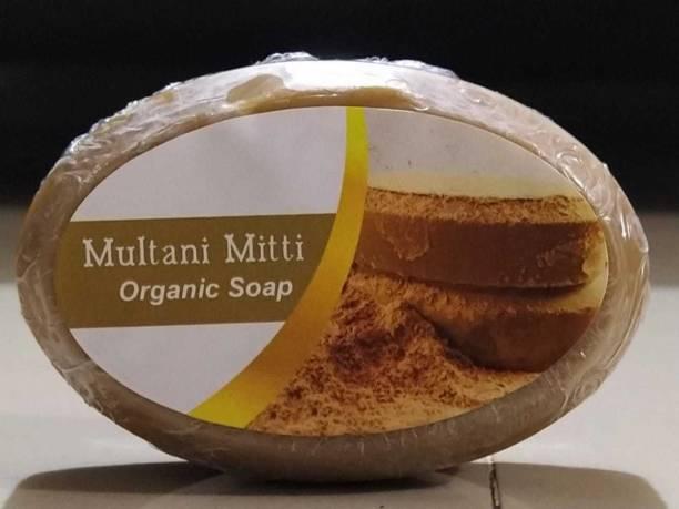 Wallkings Organic Multani Mitti soap pack of-2