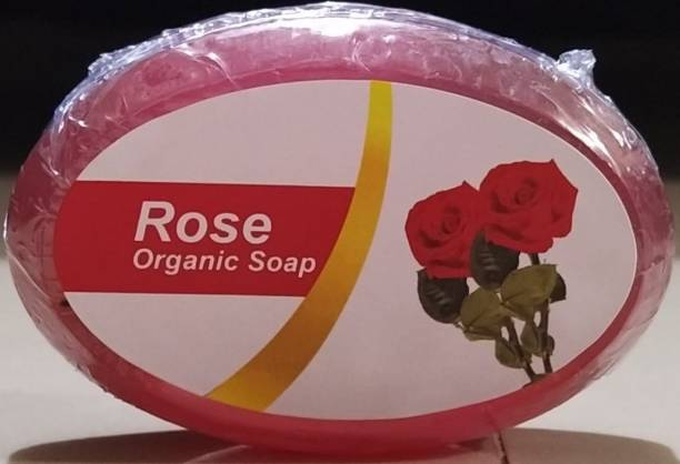 Wallkings Organic Rose Rely Soap Pack of - 4