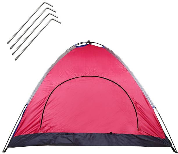 Strauss Portable Waterproof Camping Tent - For (4 Persons)