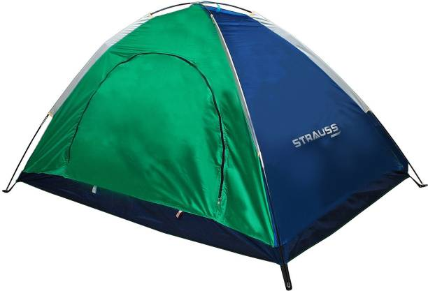 Strauss Portable Waterproof Camping Tent - For (2 Persons)