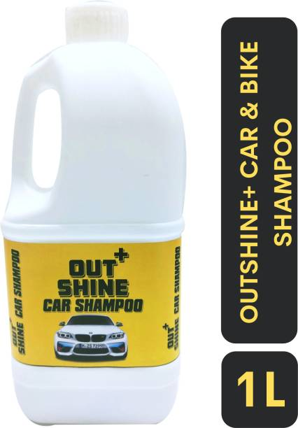 Outshine+ CAR & BIKE SHAMPOO Car Washing Liquid