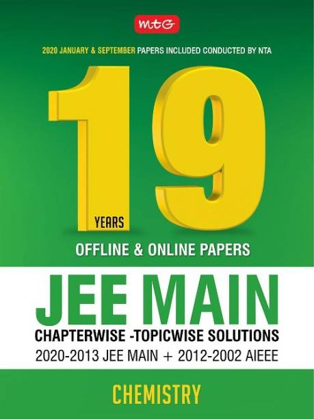 19 Years Jee Main Chapterwise Solution- Chemistry 2020