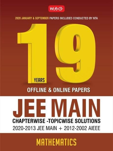 19 Years Jee Main Chapterwise Solution-Mathematics 2020