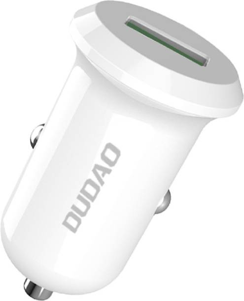 DUDAO 3 Amp Qualcomm Certified Turbo Car Charger