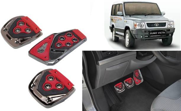 Selifaur 3 Pcs Red Non-Slip Manual Car Pedals kit Pad Covers Set for Sumo Victa Car Pedal