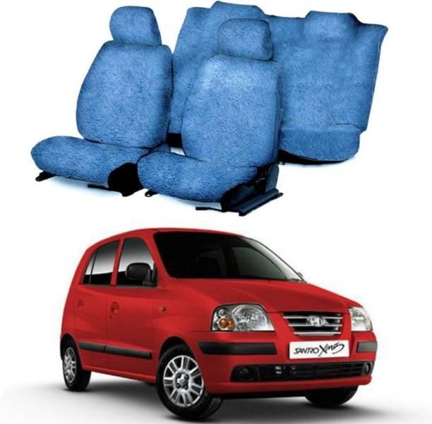 RUFUS Cotton Car Seat Cover For Hyundai Santro Xing