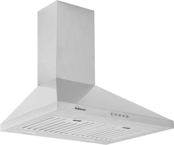 SUNFLAME venza ss Auto Clean Wall Mounted Chimney
