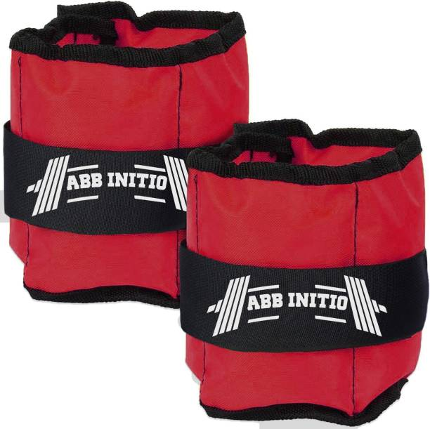 ABB INITIO ANKLE WEIGHT (RED/BLACK) 0.5KG PAIR (0.5KG X 2 PCS) Red Ankle Weight