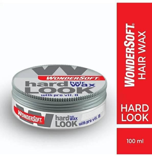 Wondersoft 100 ml Hard Look Hair Wax With Pro Vitamin-B Hair Wax ( 100 Ml ) Hair Gel