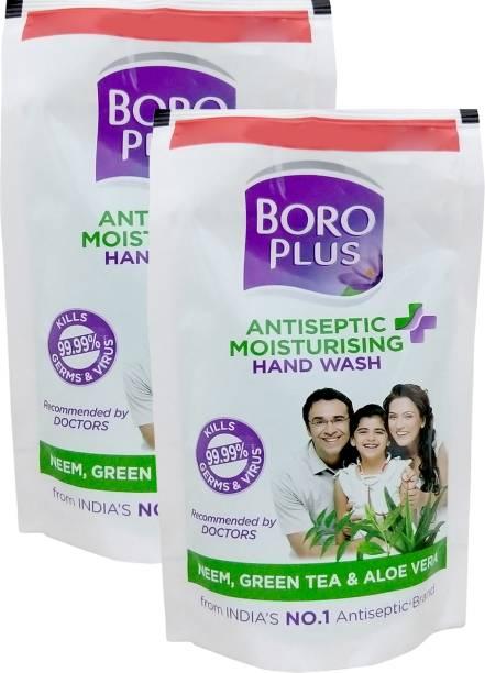 BOROPLUS Antiseptic Moisturising Hand Wash Pouch