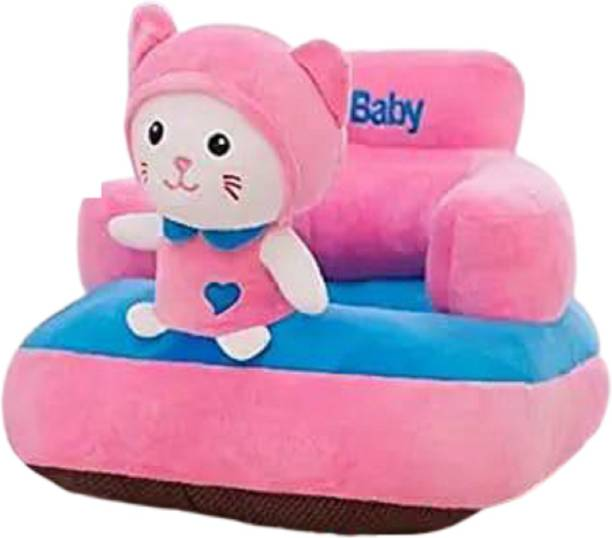SINGHS VILLAS DECOR Baby soft sofa seat or rocking chair for kids 3months to 2 years Fabric Sofa