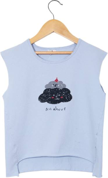 mskyter Girls Casual Pure Cotton Tank Top