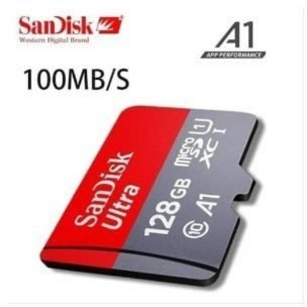 SanDisk ultra 128 GB SD Card Class 10 100 MB/s  Memory Card