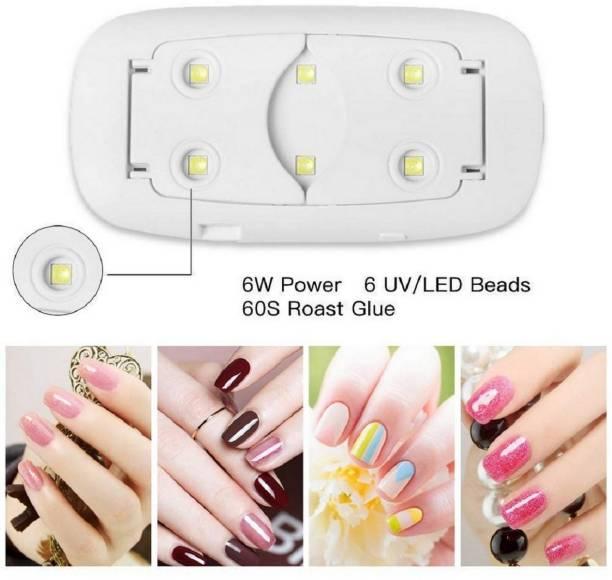 RBGIIT Mini USB UV Sun Dryer Gel Nail Polish Art Curing LED Lamp 6W Portable Manicure Tool AJC132 Nail Polish Dryer