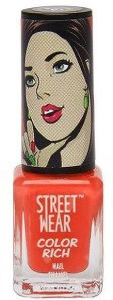 street wear Nail Enamel: color rich , 5 ml love blossom