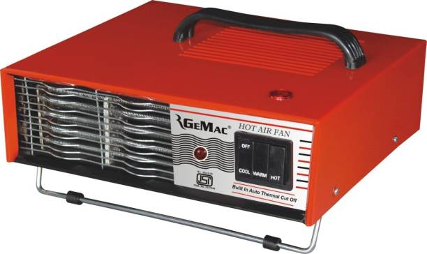 RGEMAC BLOWER ROOM HEATER 2000W METAL BODY 1000W/2000W Fan Room Heater