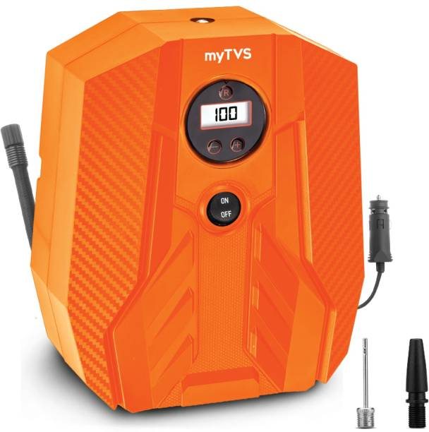 MYTVS 100 psi Tyre Air Pump for Car & Bike