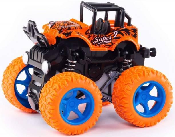 Neel Unbreakable Truck Friction Powered Monster Stunt Car for Kids