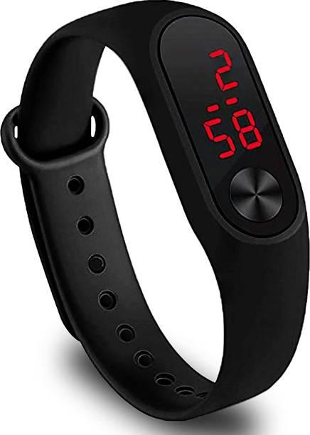 Navmi Digital Boy's & Girl's Watch Black Dial