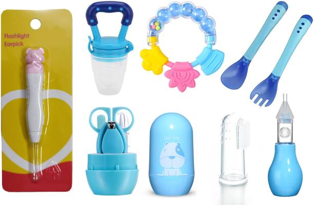 MAXISTORE BABY flash light Ear Pick, Nail Cutter & nose cleaner