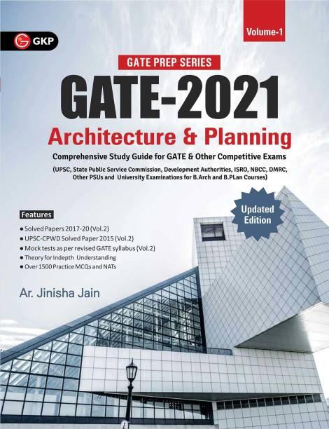 GATE 2021 : Architecture & Planning Vol. 1