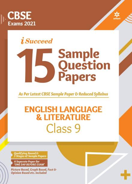 CBSE New Pattern 15 Sample Paper English Language & Literature Class 9 for 2021 Exam with reduced Syllabus