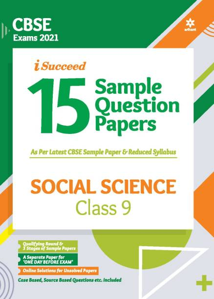 Cbse New Pattern 15 Sample Paper Social Science Class 9 for 2021 Exam with Reduced Syllabus