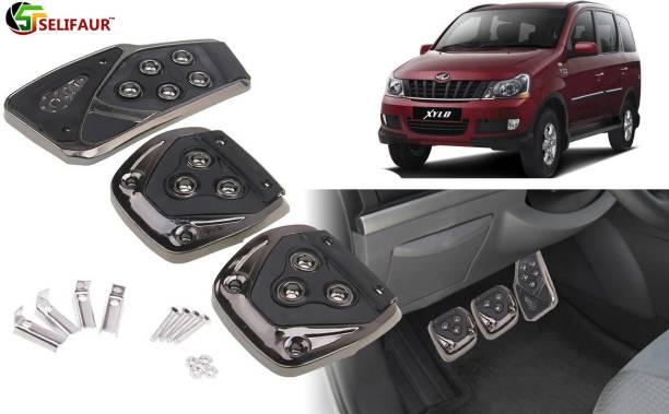 Selifaur B3B186 - 3 Pcs Black Non-Slip Manual Car Pedals kit Pad Covers Set Car Pedal