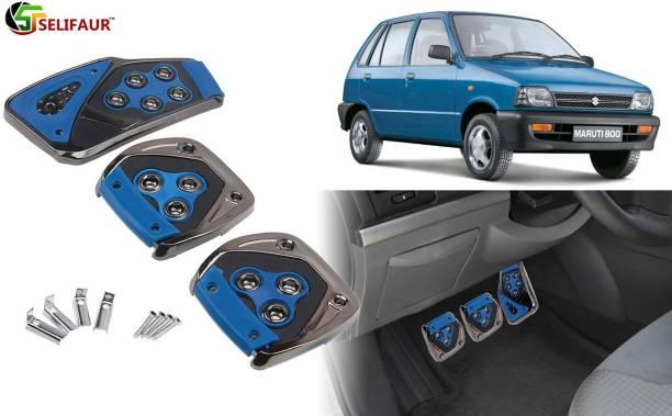 Selifaur B4P188 - 3 Pcs Blue Non-Slip Manual Car Pedals kit Pad Covers Set Car Pedal