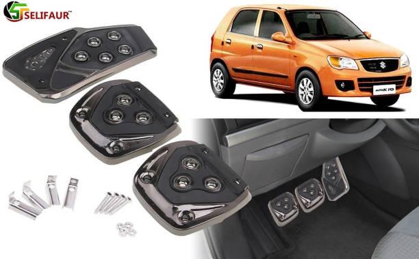 Selifaur B3B202 - 3 Pcs Black Non-Slip Manual Car Pedals kit Pad Covers Set Car Pedal