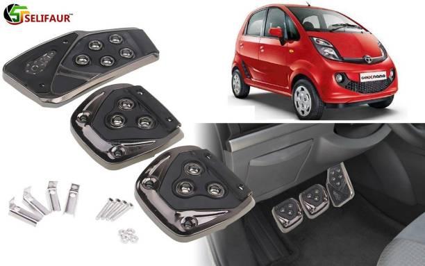 Selifaur B3B340 - 3 Pcs Black Non-Slip Manual Car Pedals kit Pad Covers Set Car Pedal